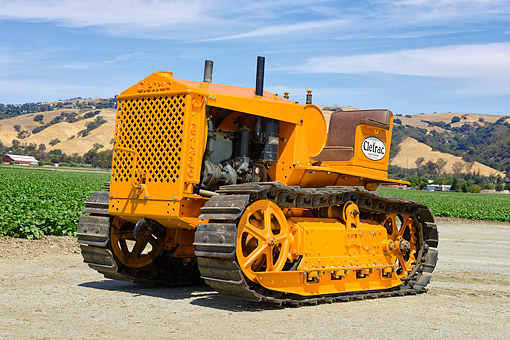 1936 Cletrac A G  Tractor Four Cylinder Hercules Engine