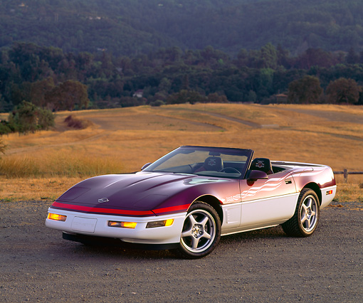 1995 Chevrolet Corvette Interior: Car Stock Photos